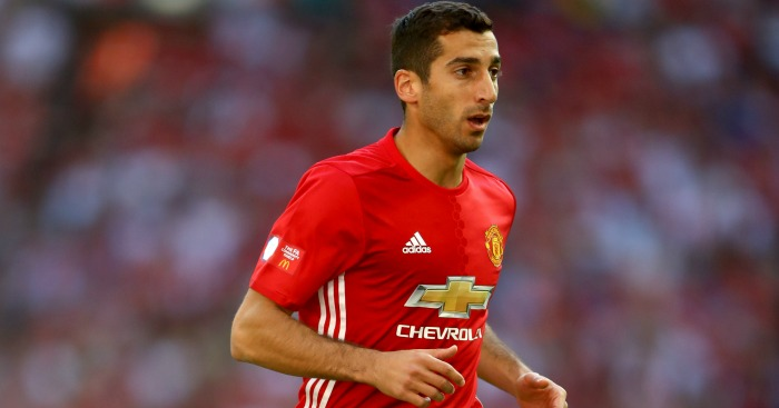 Henrikh Mkhitaryan: Picked up an injury playing for Armenia
