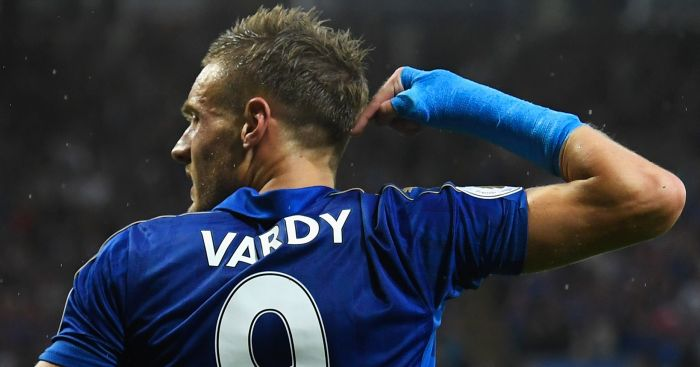 Jamie Vardy: Nominated for prestigious award