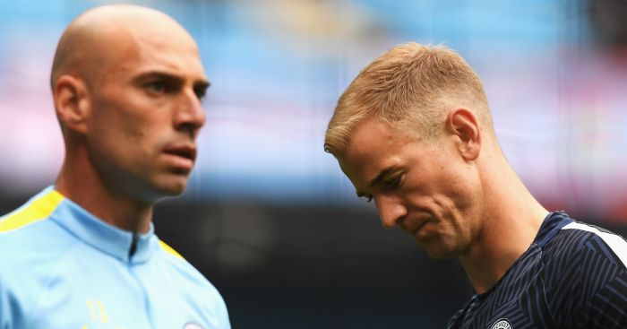 Joe Hart: Left out by Pep Guardiola