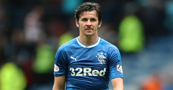 Joey Barton: Suspended by Rangers