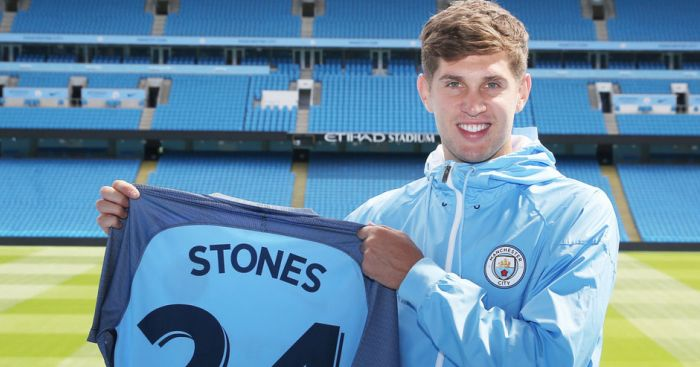 John Stones: New arrival at Man City
