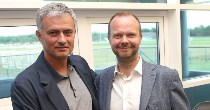 Jose Mourinho: Publicly praises Ed Woodward