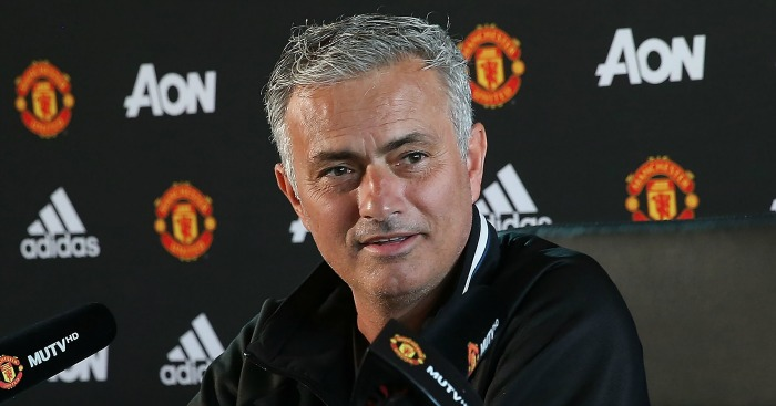 Jose Mourinho: Manager happy to state targets