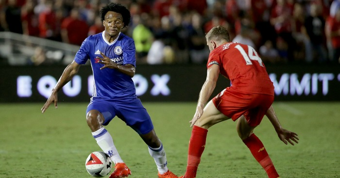 Juan Cuadrado: Winger in action in pre-season