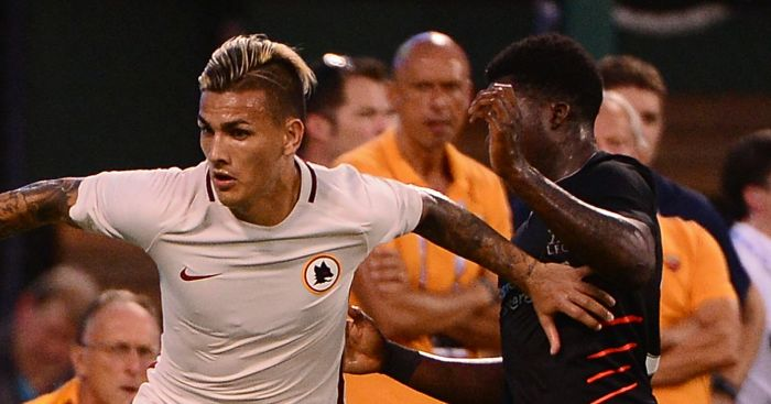 Leandro Paredes: In action against Liverpool
