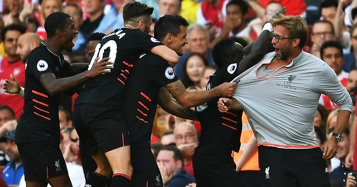 Liverpool: Celebrate Sadio Mane's goal