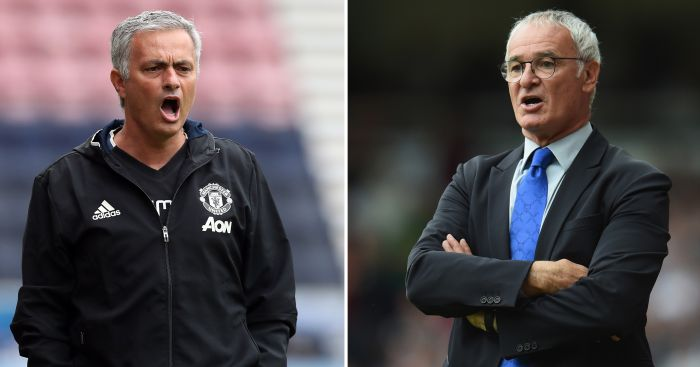 Mourinho and Ranieri: Square-off at Wembley