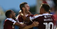 Northampton: Rewarded with United tie