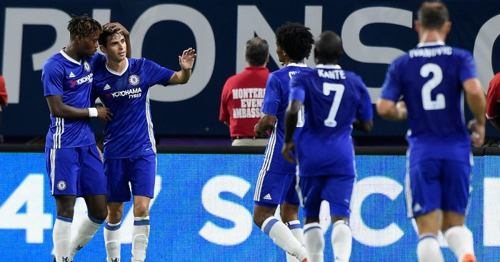 Oscar: Midfielder impressed Antonio Conte in victory