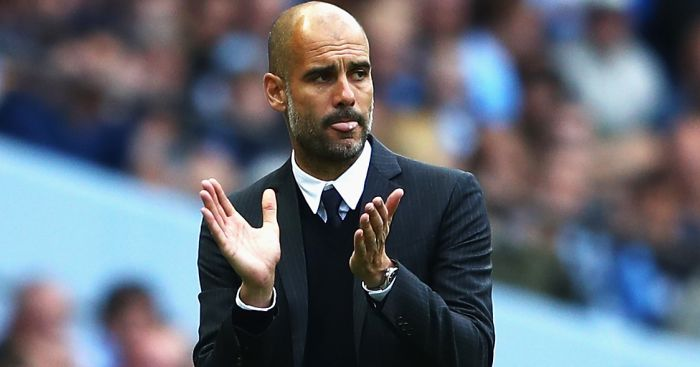 Pep Guardiola: Victorious in first game