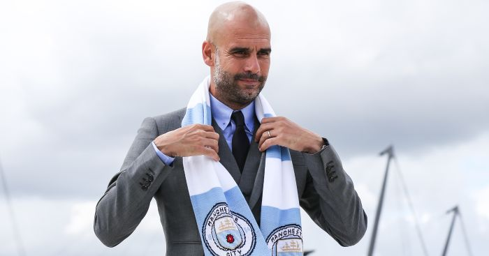 Pep Guardiola: Backed to win the league with Man City