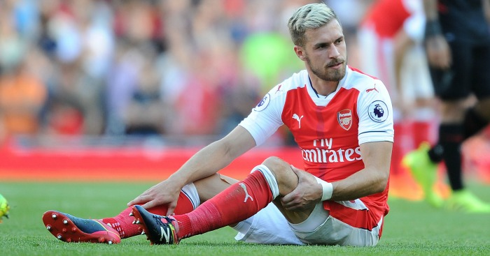 Aaron Ramsey: Injury fears