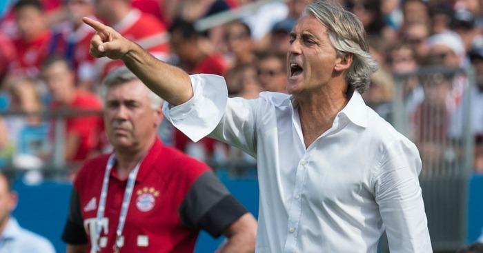 Roberto Mancini: 'Waiting in the wings'