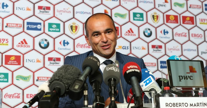 Roberto Martinez: Manager replaces Marc Wilmots
