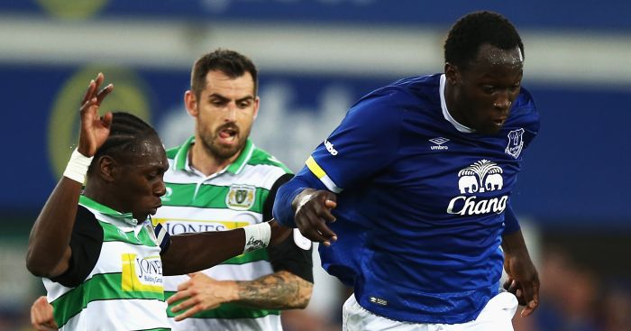 Romelu Lukaku: Drew blank against Yeovil