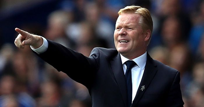 Ronald Koeman: Speaks ahead of West Brom