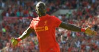 Sadio Mane: Smiles plenty in training