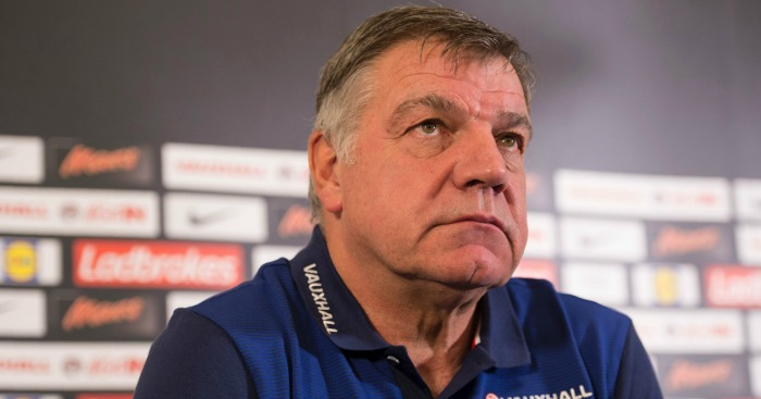 Sam Allardyce: Discusses England squad