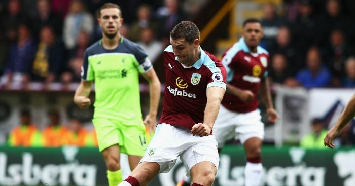 Sam Vokes: Scores early for Burnley