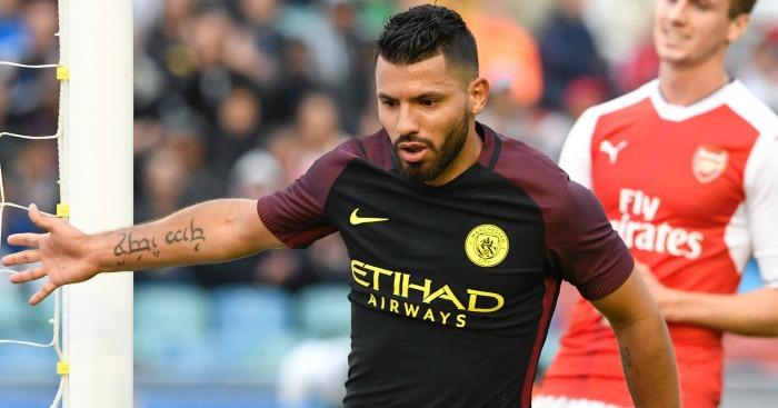 Sergio Aguero Manchester City 1