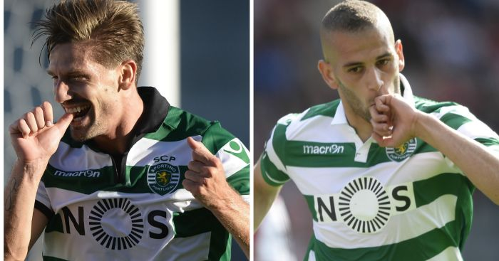 Adrien Silva and Islam Slimani: Foxes interest