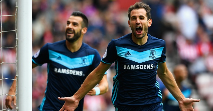 Cristhian Stuani: Scored twice