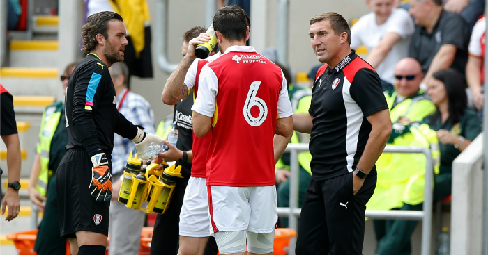 Alan Stubbs: Manager leaves with Rotherham bottom