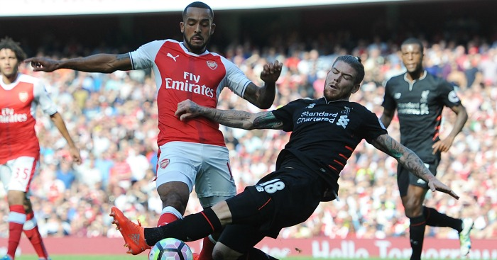 Alberto Moreno: Had a hard time against Theo Walcott