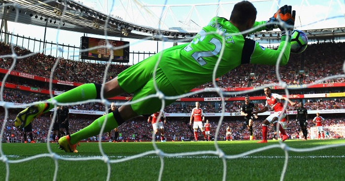 Simon Mignolet: Saves Theo Walcott's penalty