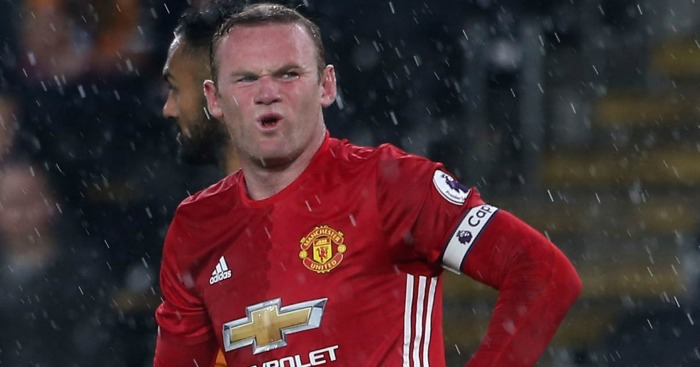 Wayne Rooney: Afforded a rest against Feyenoord