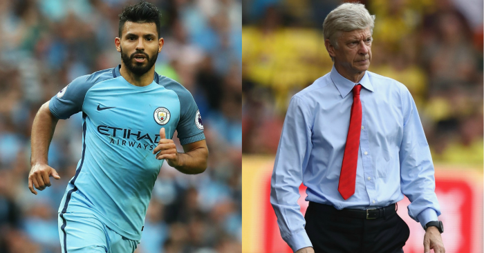 Sergio Aguero & Arsene Wenger: Both criticised this week