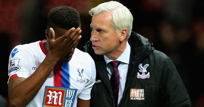 Wilfried Zaha: Attitude has been hailed by Pardew