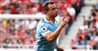 Xherdan Shaqiri: On target for Stoke