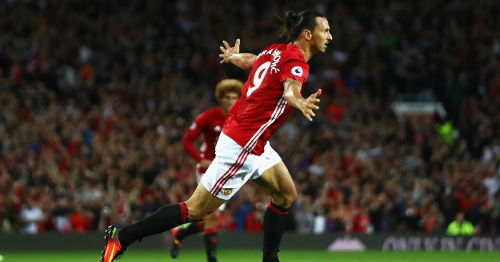 Zlatan Ibrahimovic: Looked majestic against Saints