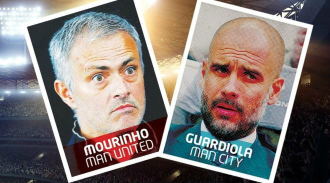 Jose Mourinho & Pep Guardiola: Renew rivalries on Saturday