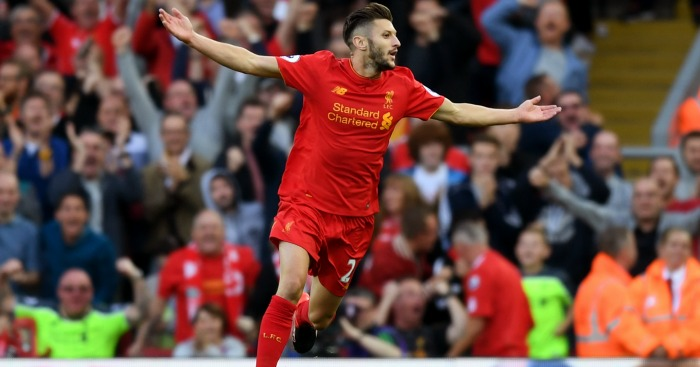 Adam Lallana: Midfielder struck superb goal in victory