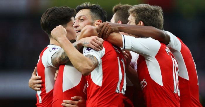 Arsenal: Thumped Chelsea 3-0