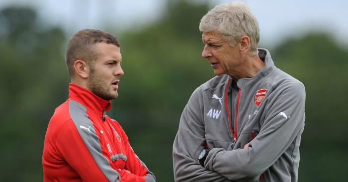 Arsene Wenger Jack Wilshere Arsenal