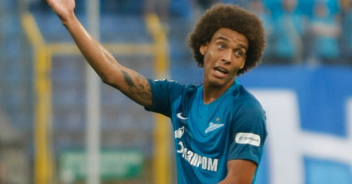 Axel Witsel: Emerging as Liverpool target