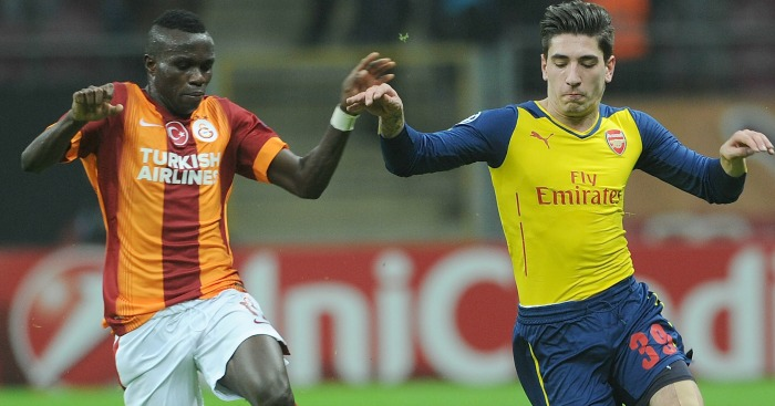 Bruma Galatasaray Hector Bellerin Arsenal