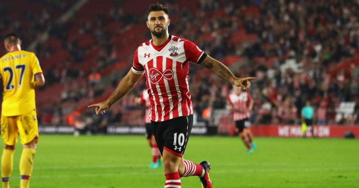 Charlie Austin: Striker celebrates goal