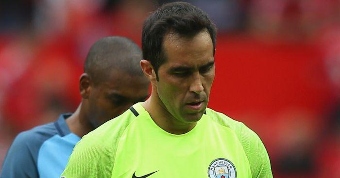 Claudio Bravo: Nervy start for Man City