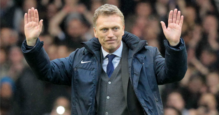 David Moyes: Manager impressed at Everton