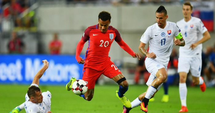 Dele Alli: Caught the eye after coming on