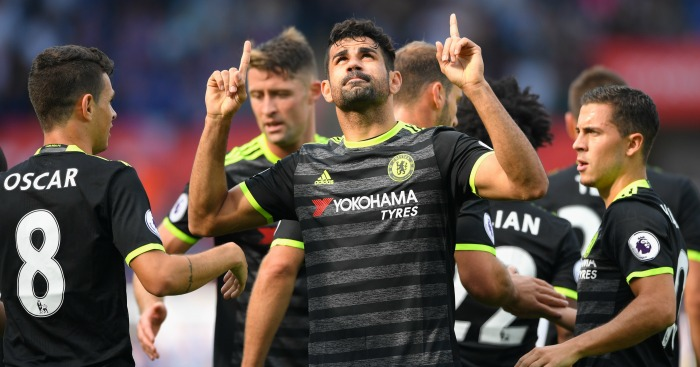 Diego Costa: Striker notched twice at the Liberty Stadium