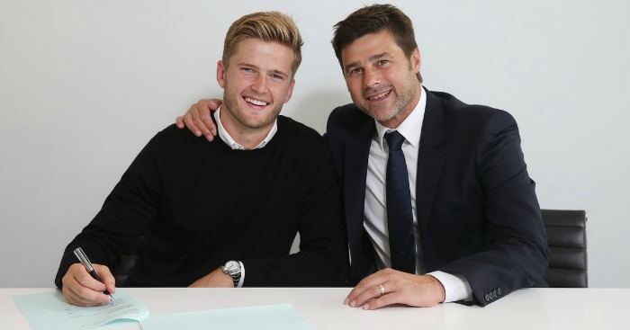 Eric Dier: Photo courtesy of Tottenham