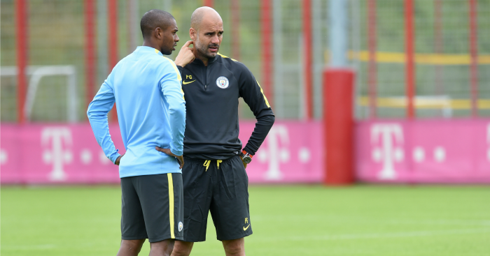 Fernandinho: Midfielder still adapting to Pep Guardiola