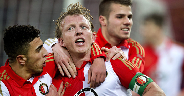 Dirk Kuyt: Pressure on Man Utd in Europa League