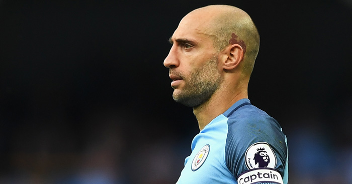 Pablo Zabaleta: Believes Guardiola is one of greatest