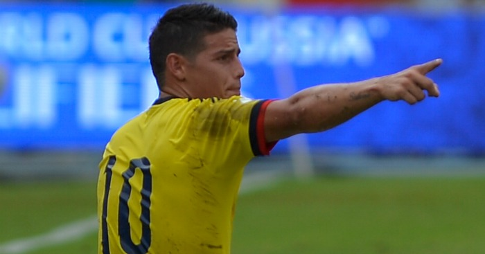 James Rodriguez: Advised to make Man Utd move